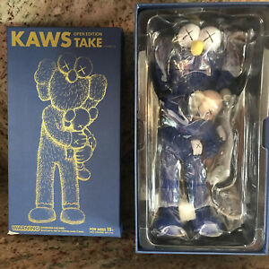 KAWS Take Blue Brand New Never Opened Authentic Sealed