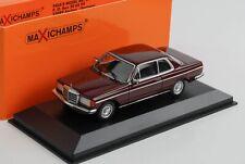 Mercedes-Benz  230CE 230 W123 Coupe dunkel rot 1976 diecast 1:43 Minichamps Maxi