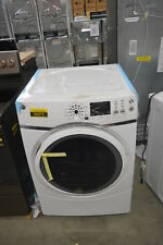 """Ge Gfd45Essmww 27"""" White Front Load Electric Dryer Nob #33760 Clw"""