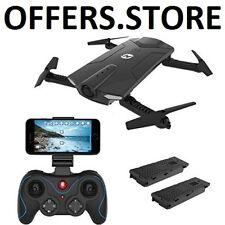 RC Drone Quadcopter Wi Fi Camera HD 720P Live Video Altitude Hold Bonus Battery