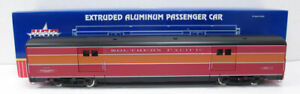 """USA Trains R310902 G SP """"Daylight Limited"""" Baggage Car with Metal Wheels"""