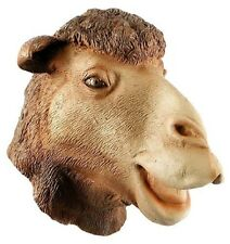 Adult Latex Dromedary Camel Mask Head Costume Zoo Theater Prop