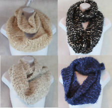 Charter Club New Womens Chenille Eyelash Infinity Loop Scarf, Assorted Colors