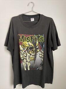 Vintage 1990's Misfits Pushead shirt Single stitch