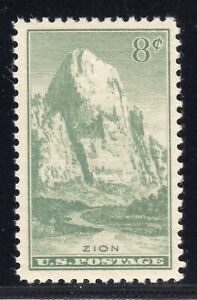 US STAMP #747 — 8c NATIONAL PARKS—  VF-XF —  MINT —  GRADE 85
