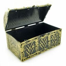 Golden Pirate Captain Treasure Chest Box Toy for Toddler Party Costume Halloween