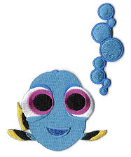 Baby Dory - Finding Dory - Bubbles - Embroidered Iron On Applique Patch - 2PC