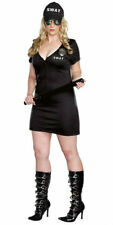 Swat Police Officer Costume - Plus Size