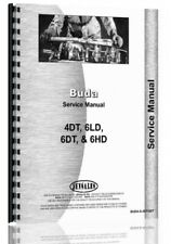 Buda 4dt 6dh 6dt 6ld Engine Service Repair Manual