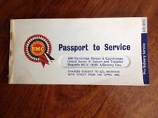 BMC Passport Service Austin Cambridge Morris Oxford MG Magnette Wolseley Riley