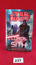 B237 - Star Wars: Lords of the Sith Paul Kemp Hardback Hard Cover First Edition
