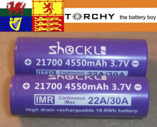 High Drain Devices 21700 Battery Rechargeable Batteries