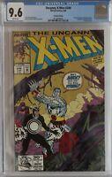 CGC 9.6 NM+ Uncanny X-Men #248, 2nd print gold variant, 1st Jim Lee art white pg