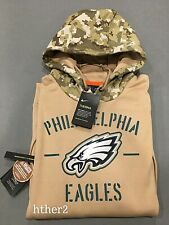 AUTHENTIC Nike 2019 Philadelphia Eagles Salute to Service Hoodie All Sizes STS