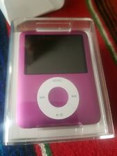 RARE APPLE IPOD NANO 3rd GENERATION 8gb Pink SEX AND THE CITY NEW