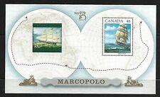 Australia Canada 1999 joint issue Marco Polo ship. Unitrade 1779a MNH