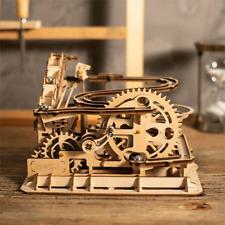 Robotime Puzzle 3d Rompecabezas de madera conjunto de ejecución de mármol Hazlo tú mismo WaterWheel Montaña Rusa Juguete UK