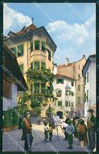Bolzano Cà dé Bezzi Pittore cartolina QT3077