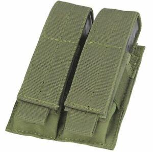 Condor Molle Double Pistol Magazine Pouch (OD Green)