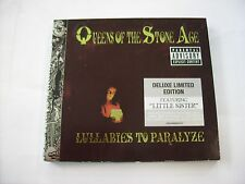 QUEENS OF THE STONE AGE - LULLABIES TO PARALYZE - CD+DVD LIKE NEW CONDITION 2005