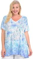 Plumeria in Blue Graphics Soft n light One By One Print Sublimation MSVT-R332