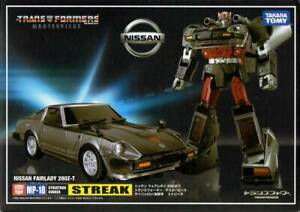 Transformers Masterpiece MP-18 streak Figure Japan Anime Toy Free Ship