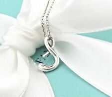 22743b8e9 Tiffany & Co. Sterling Silver Alphabet Initial Letter S Pendant Necklace