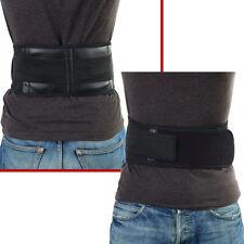 Infrared Magnetic Back Brace Posture Belt Lumbar Support Lower Pain Massager FE