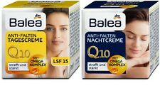 Anti-Wrinkle Balea Q10 Day + Night Cream Skin Anti-Falten Tagescreme  2 x 50 ml