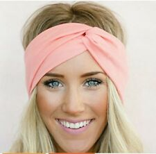 Lovely Women Snake Stretch Elastic Cross Headbands Turban Girls Knotted Bow Hair Band Headwrap Leopard Headwear Wide Hair Accessories Apparel Accessories