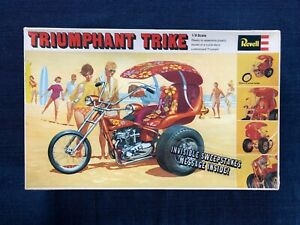REVELL #H-1223 1/8 SCALE TRIUMPHANT TRIKE factory sealed from 1968