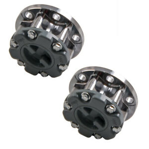 2x Free Wheel Locking Hub Hubs Fit Mitsubishi Pajero Triton L200 Md886389 new