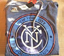 New York City FC Sweatshirt Ultimate Hood Size Large Authentic #309FA