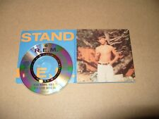 R.E.M. Stand/Memphis Train Blues 3 Track 3 Inch Single cd is Ex / card case vg+