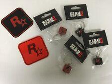 RED DEAD REDEMPTION II - ROCKSTAR - 2 AUFKLEBER + 4 SCHLÜSSELRINGE - NEU