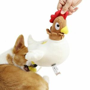 Pet Interactive Molar Toys Cleaning Teeth Hen Design for Dog Puppy Cat Kitten