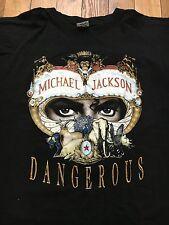 Vintage Michael Jackson Shirt Dangerous 1992 Tour M/L OG
