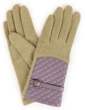 Powder Pea Green Lizzy Wool Gloves