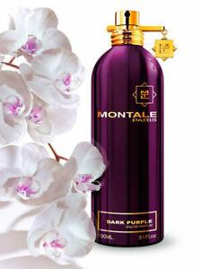 Montale Dark Purple Women Eau De Parfum 100 ml 3.4 Fl Oz New Original Authentic
