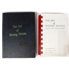 1956 Vintage The Art of Mixing Drinks Recipes Book w/ Box