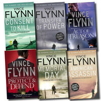 Mitch Rapp Thriller Collection Vince Flynn 6 Books Set Paperback English