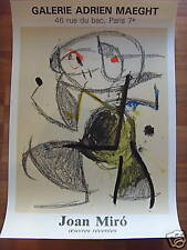 MIRO*AFFICHE*LITHOGRAPHIE*ORIGINALE*MAEGHT*COLLECTOR*
