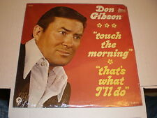 Don Gibson LP Touch The Morning/That's What I'll Do SEALED