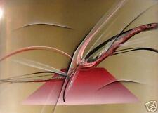 Elba Alvarez Purple 2 Original Signed Acrylic Painting on Canvas SUBMIT AN OFFER