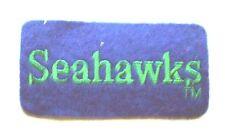 "Seattle Seahawks Football 2"" Cloth Bar Patch"