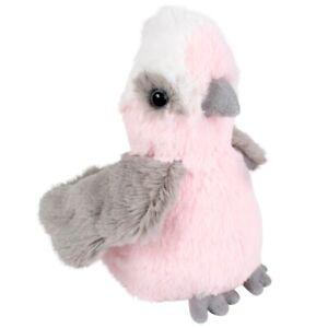 NEW PLUSH SOFT TOY MINKPLUSH Little Davo Galah 12cm - Australian - Teddy