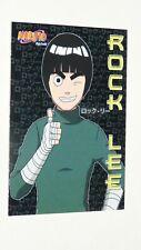 #39 ROCK LEE NARUTO CARD PANINI 2002 ナルトMASASHI KISIMOTO SHONEN MANGA