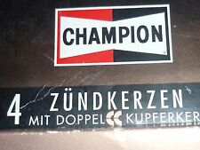 1 Satz = 4 Stück original CHAMPION RS9YCC = OE020 Zündkerzen set of spark plugs