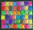 5000 Rubber Bands (50 Colors )Refill For DIY Loom Bracelet Kit W Chips T-64