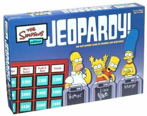 The Simpsons Edition Jeopardy! Board Game Replacement Parts & Pieces 2003
